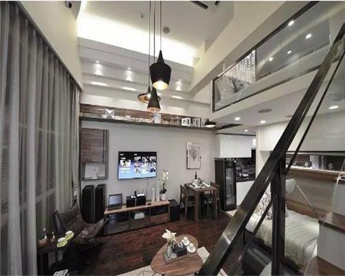 小户型复式公寓装修效果图7
