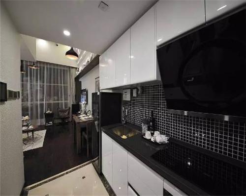 小户型复式公寓装修效果图12