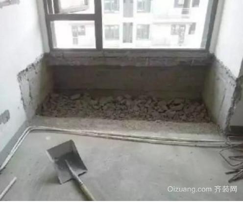 一般砸墙砸飘窗多少钱