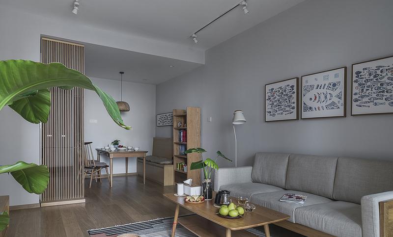 125㎡北欧风格客厅装修设计