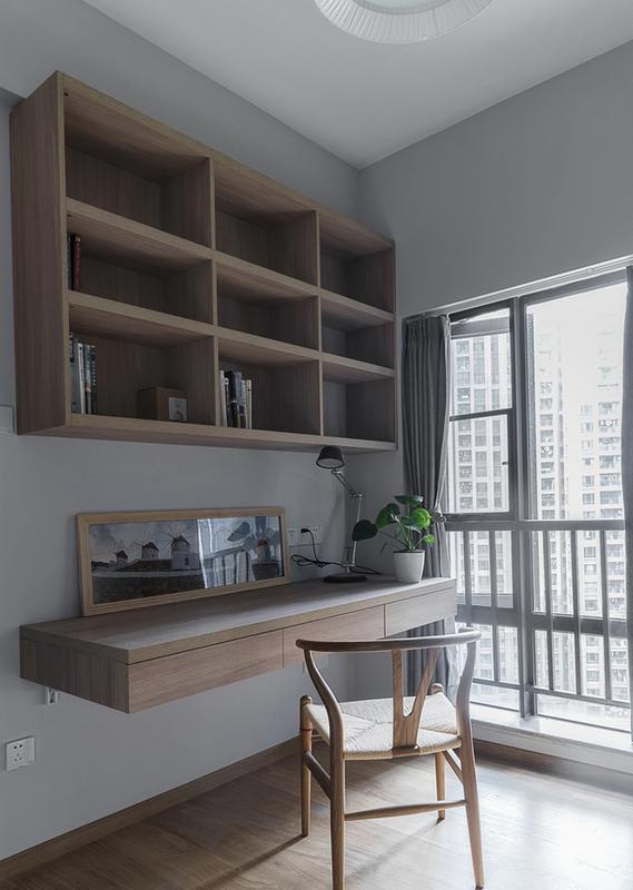 125㎡北欧风格书房装修设计