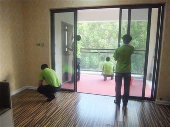 毛坯房装修最后开荒保洁步骤