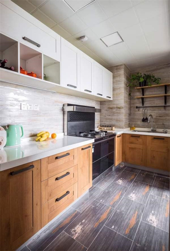 96平米波普艺术风格厨房装修