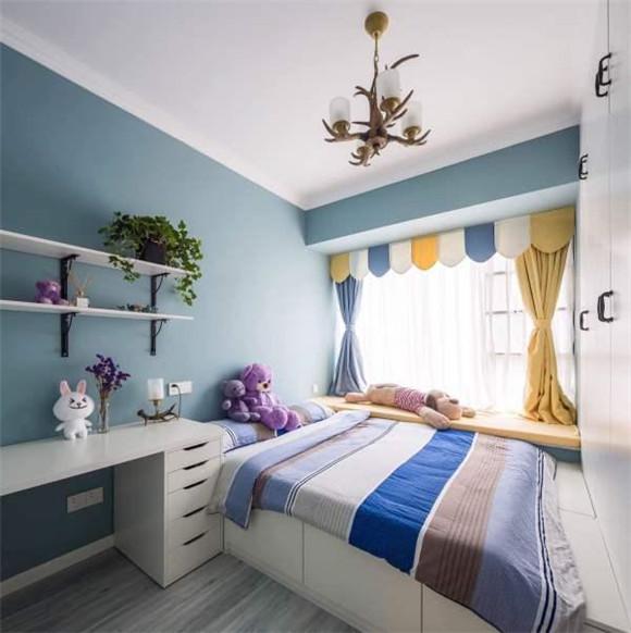 96平米波普艺术风格儿童房装修