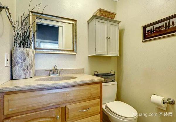 小卫生间怎么装修好看 3平米卫生间干湿分离如何设计