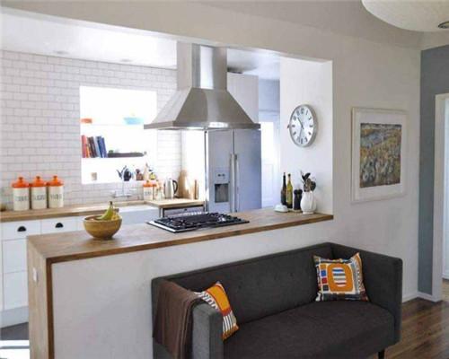 半开放式厨房设计效果图1