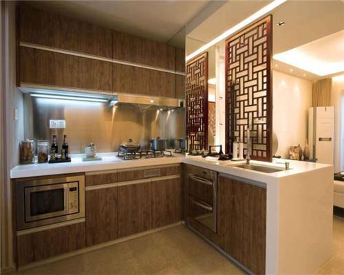 半开放式厨房设计效果图2