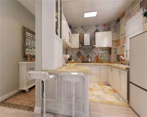 半开放式厨房设计效果图3