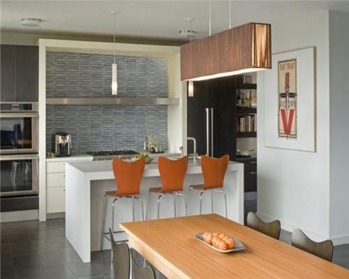 半开放式厨房设计效果图4
