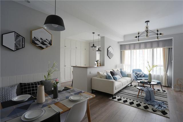 小户型北欧风格客厅装修