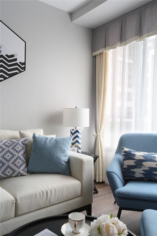 小户型北欧风格客厅装饰