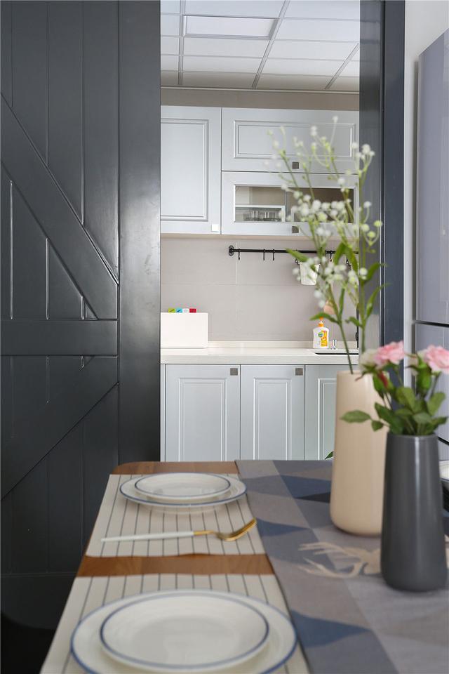 小户型北欧风格厨房装修