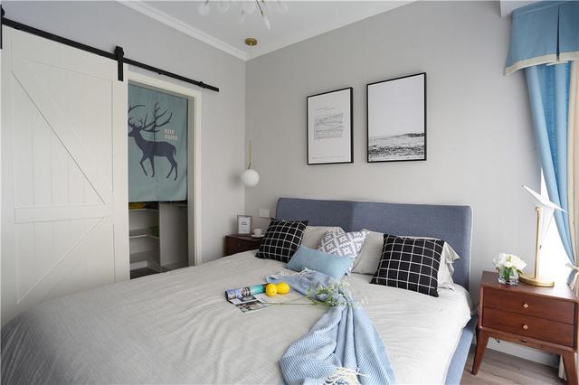 小户型北欧风格卧室装修