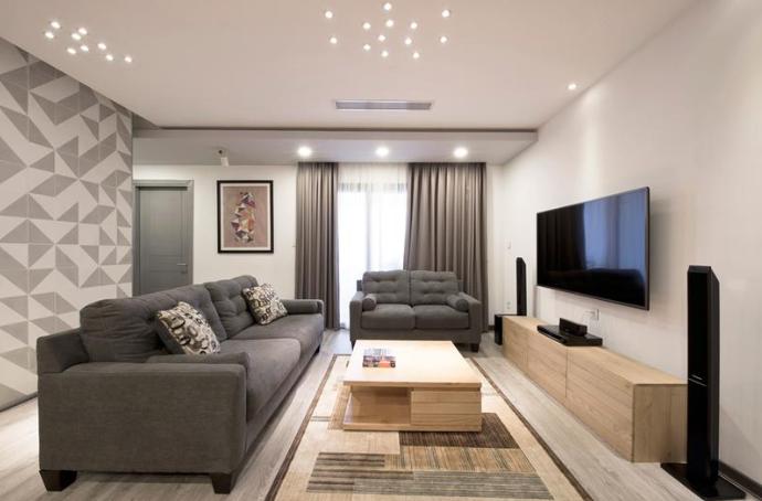 88平米loft公寓装修效果图