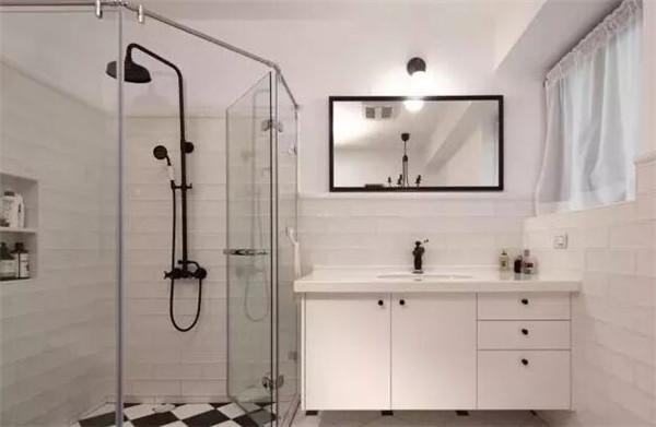卫生间干湿分离隔断门