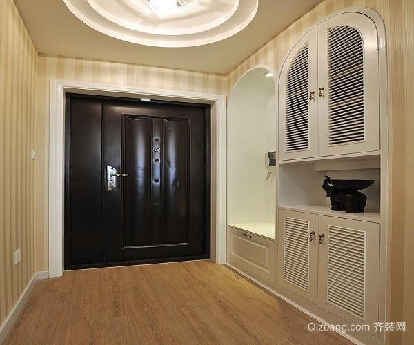 简欧玄关隔断柜如何设计