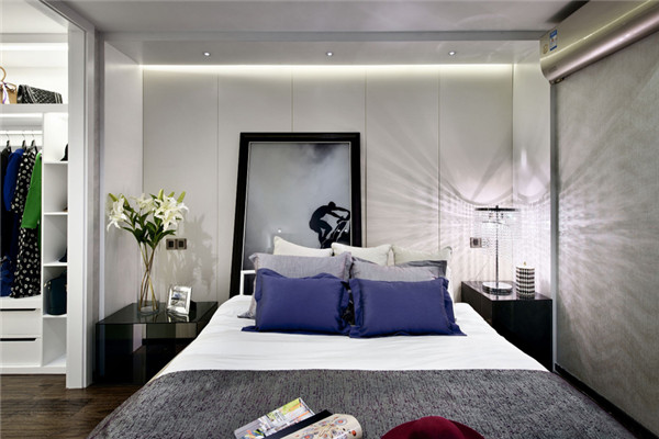 优雅有活力的卧室