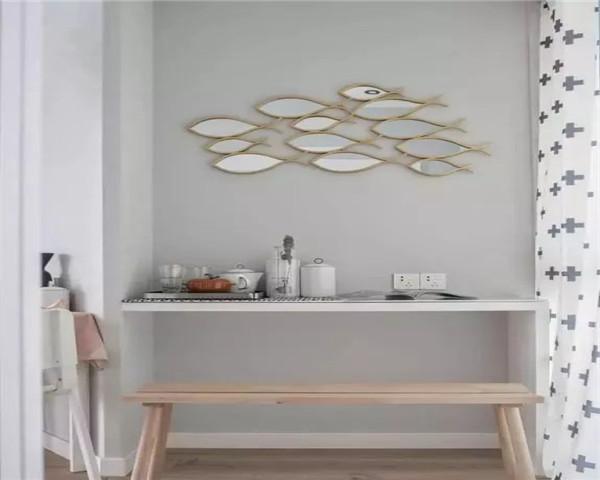 厨房也要明亮整洁