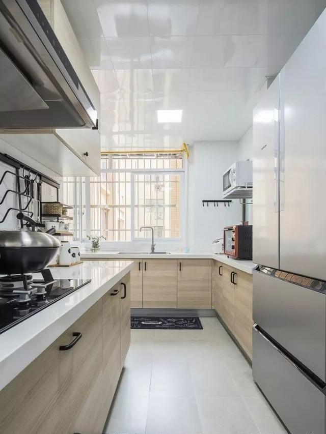 90㎡小户型北欧风格厨房装修