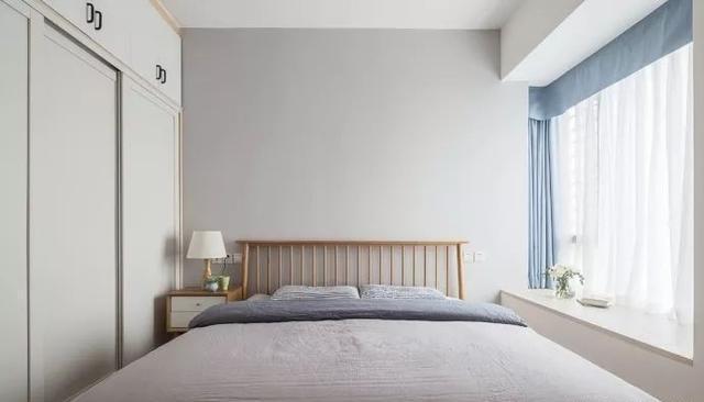 90㎡小户型北欧风格卧室装修