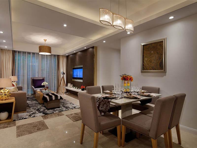 客厅与餐厅