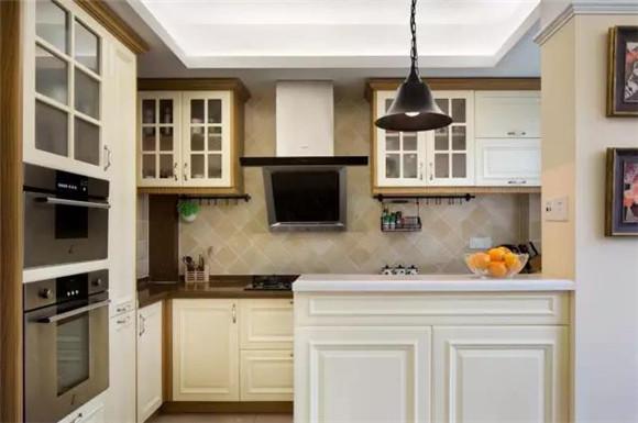 112平米美式厨房装修案例