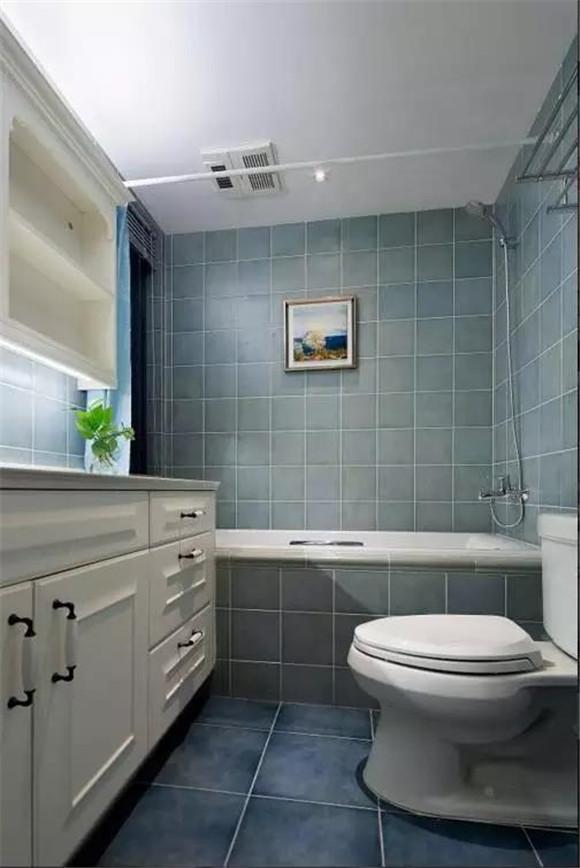 112平米美式卫生间装修案例