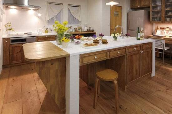 小户型整体厨房低档装修费用