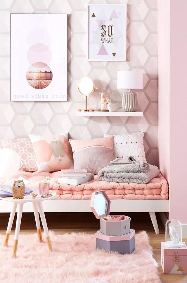 粉色现代系