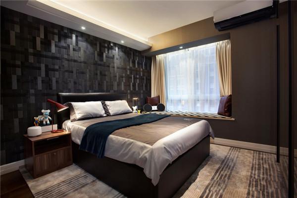 现代感十足的卧室