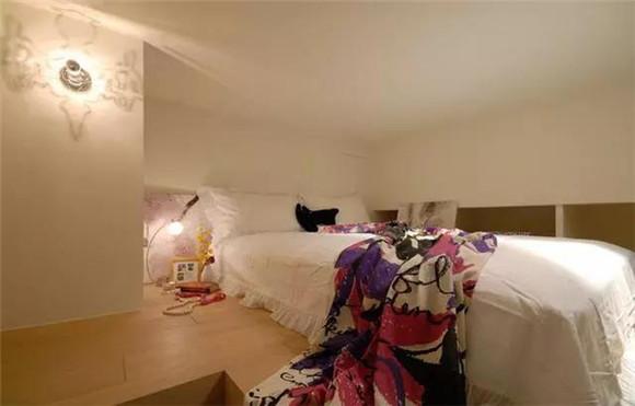 40㎡单身公寓卧室装修效果图