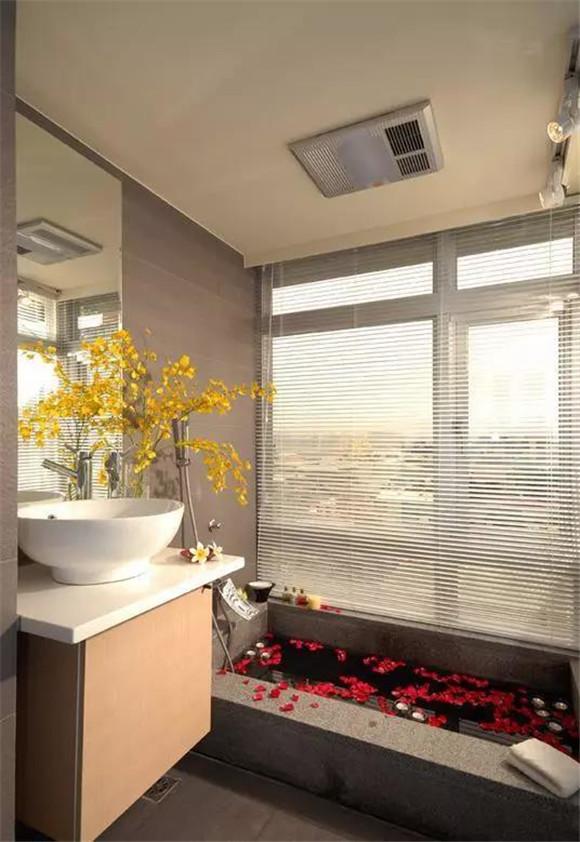 40㎡单身公寓卫生间装修效果图
