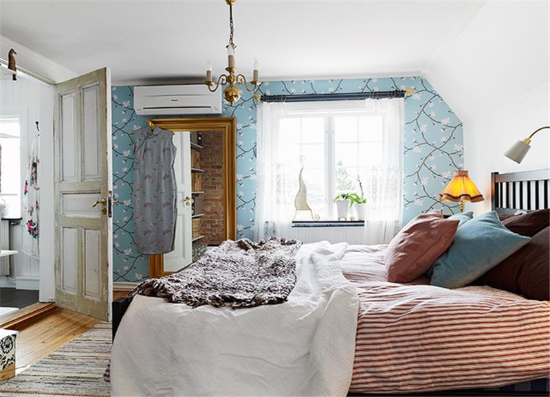 110平米北欧风格卧室装修