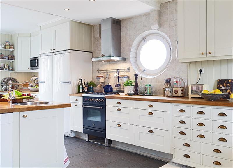 110平米北欧风格厨房装修