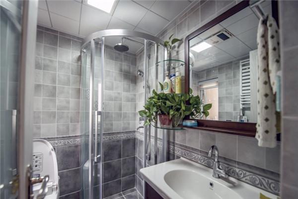 干净舒适的卫生间