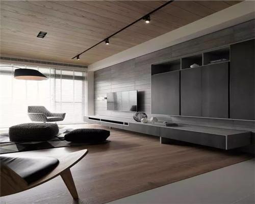 简约风格电视背景墙设计效果图2
