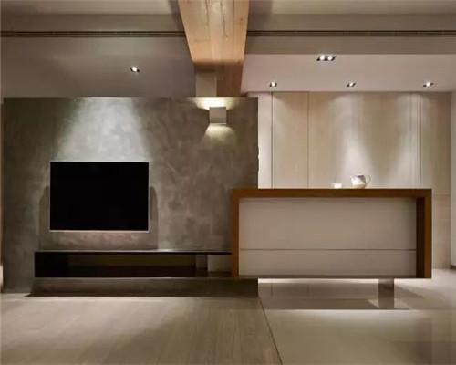简约风格电视背景墙设计效果图4