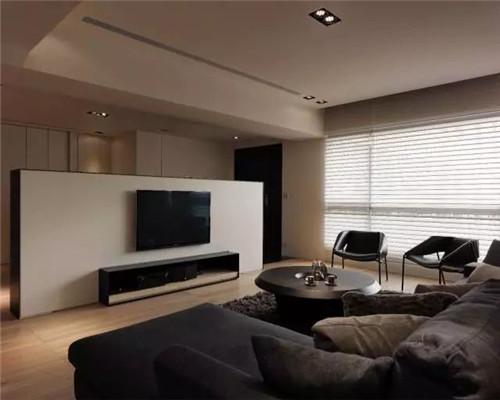 简约风格电视背景墙设计效果图5