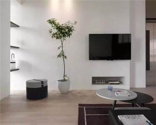 简约风格电视背景墙设计效果图7