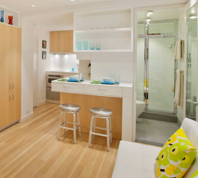 单身公寓厨卫装修设计