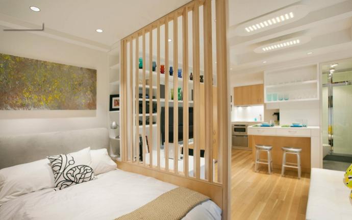 单身公寓卧室装修设计