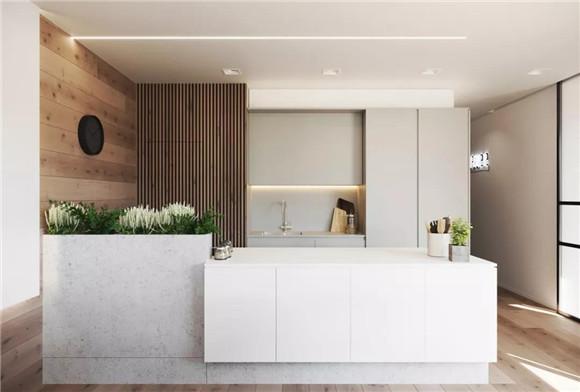 57平米小户型厨房装修效果图