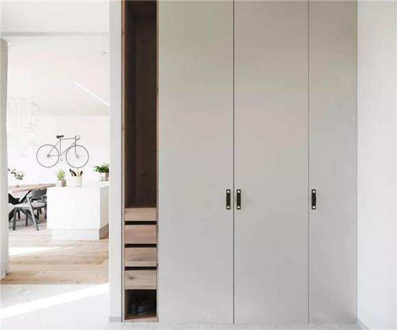 57平米小户型卧室装修效果图