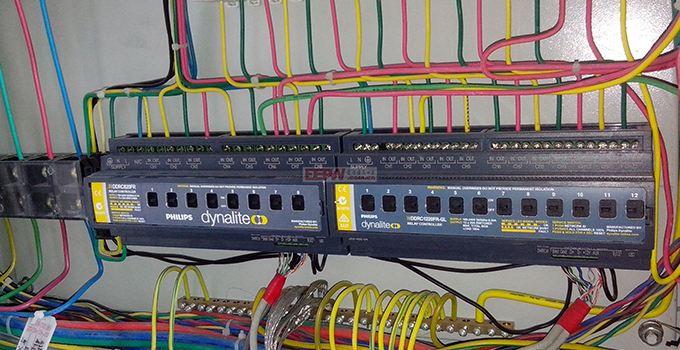 弱电线路图片