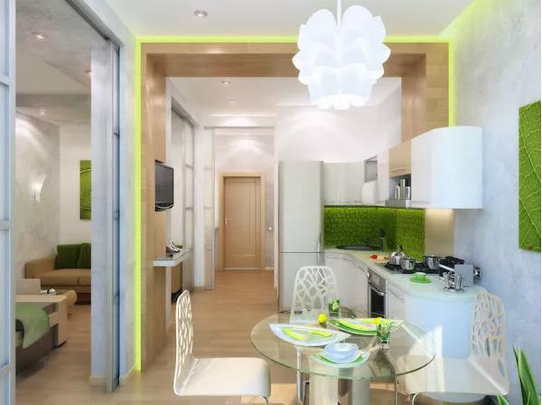 35平小公寓选用白色为主题颜色