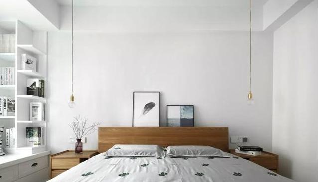 90㎡现代简约卧室装修