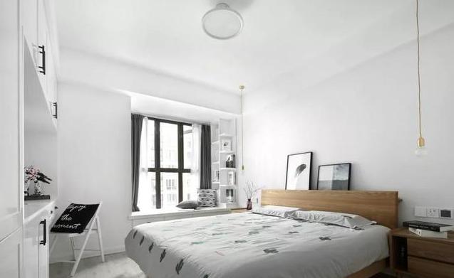 90㎡现代简约卧室装饰