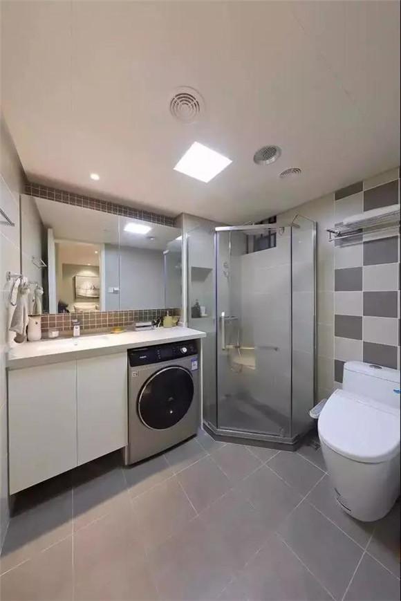 70平小户型卫生间装修