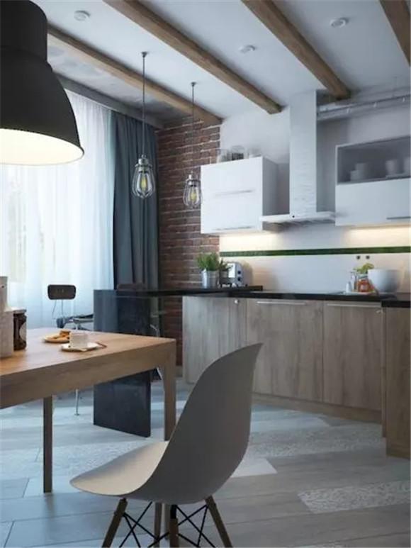48㎡单身公寓橱柜装修