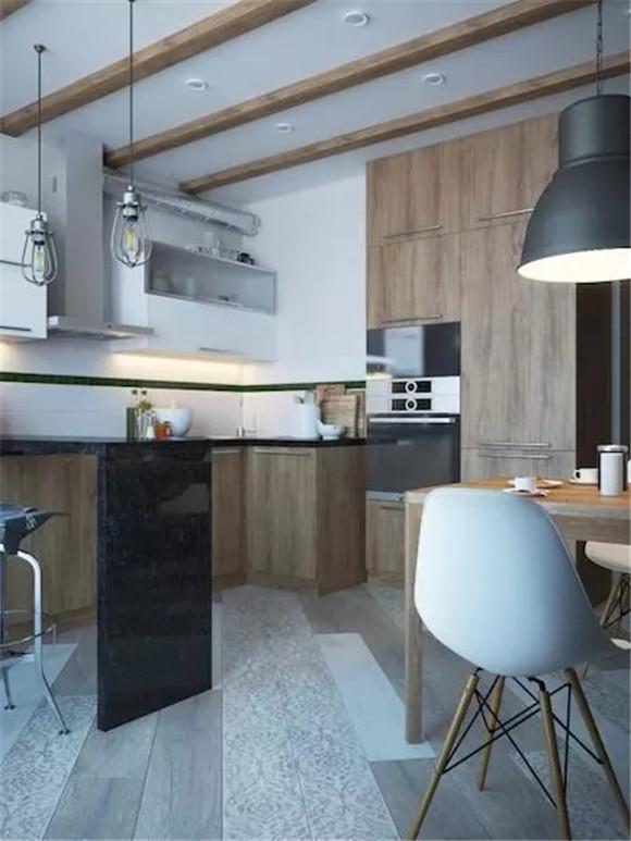 48㎡单身公寓厨房装修